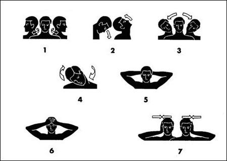7 esercizi di stretching cervicale