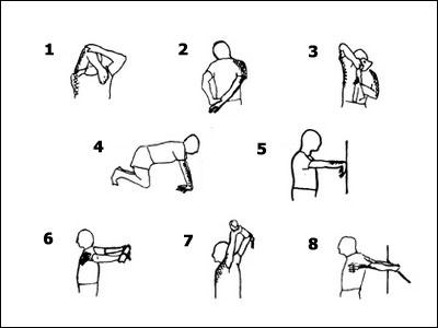 8 esercizi di stretching per spalle e braccia